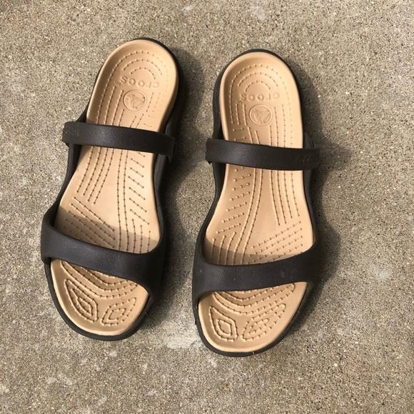 CROCS Shoes - Crocs Cleo Sandals